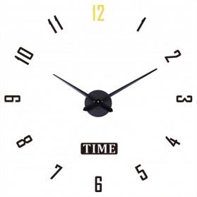 Geekman Jam Dinding Besar DIY Giant Wall Clock Model Arabic 120 cm - DIY-203 - Black