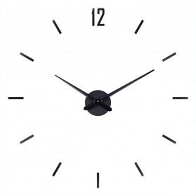 Geekman Jam Dinding Besar DIY Giant Wall Clock Model Strip 120 cm - DIY-203 - Black