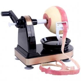 Pisau Dapur Set & Pengasah Pisau - ALRENS Alat Pengupas Kulit Pemotong Buah Apel Pir Praktis Peeler - GL33 - Black