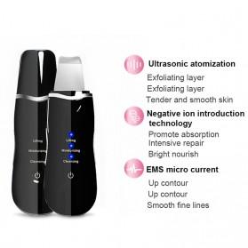 Tolaccea Pembersih Wajah Elektrik Ultrasonic Facial Skin Scrubber Ion Acne Skin Cleanser - TL382 - Pink - 2