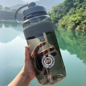 Niehaina Botol Minum Plastik BPA Free Fitness Gym Bottle 2000ml - HA437 - Gray