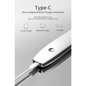 YUKUI Pembersih Wajah Elektrik LED Ultrasonic Facial Scrubber -  M22 - Gray Silver - 6