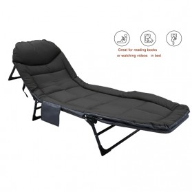 Zero Gravity Kasur Lipat Portable Folding Escort Bed - ALL-70 - Gray