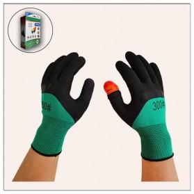 SAFEBET Sarung Tangan Panen Petik Buah Harvest Picking Gloves - AY336 - Black/Green