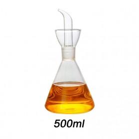 EASYCOOK Botol Minyak Borosilicate Glass Oil Pot High Borosilicate 500ml - S2078 - Transparent