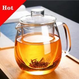 PGY Teko Pitcher Glass Teapot Japanese Style Tea Infuse 1200ml - CV102 - Transparent