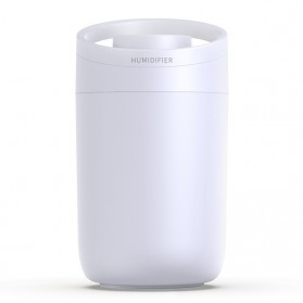 HEAOYE Air Humidifier Aromatherapy Oil Diffuser Double Spray 3L - X11 - White
