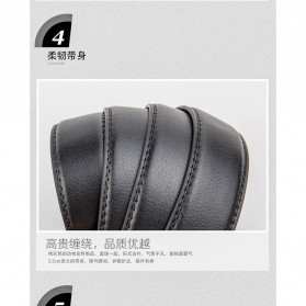 Calesn Klron Tali Ikat Pinggang Kulit Style Korea - BP125 - Black - 2