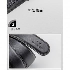 Calesn Klron Tali Ikat Pinggang Kulit Style Korea - BP125 - Black - 3