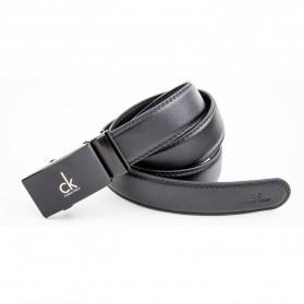 Calesn Klron Tali Ikat Pinggang Kulit Style Korea - BP125 - Black - 5
