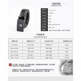 Calesn Klron Tali Ikat Pinggang Kulit Style Korea - BP125 - Black - 6