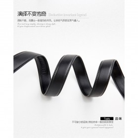 Calesn Klron Tali Ikat Pinggang Kulit Style Korea - BP125 - Black - 7