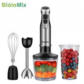 Biolomix Blender Buah Makanan Multifungsi Beater Mixer 1200W - BHB1200 - Silver