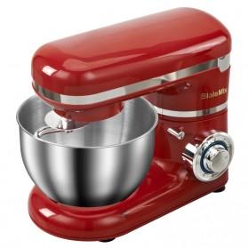 Biolomix Alat Pembuat Kue Roti Stand Mixer Whisk Blender 1200W - BM6178 - Red