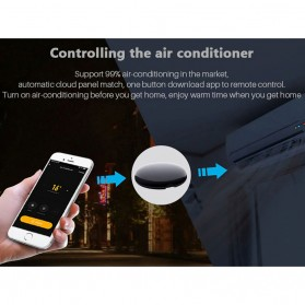 AVATTO Universal Smart Remote Controller WIFI+IR Home Switch - S08 - Black - 10