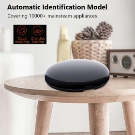 AVATTO Universal Smart Remote Controller WIFI+IR Home Switch - S08 - Black - 6