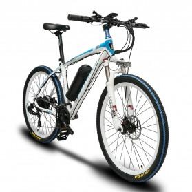 Lankeleisi Sepeda Elektrik MTB Smart Moped XINCHI 48V 10.4AH - T8 - Black/Blue - 2