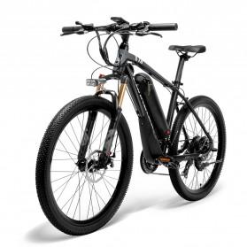 Lankeleisi Sepeda Elektrik MTB Smart Moped XINCHI 48V 10.4AH - T8 - Black/Gray