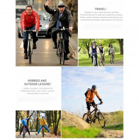 Lankeleisi Sepeda Elektrik MTB Smart Moped XINCHI 48V 10.4AH - T8 - Black/Gray - 3