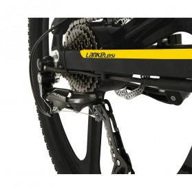Lankeleisi Sepeda Elektrik Lipat Smart Moped Sports Version 48V 10AH - XT750 - Black/Blue - 3