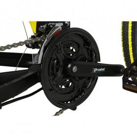 Lankeleisi Sepeda Elektrik Lipat Smart Moped Sports Version 48V 10AH - XT750 - Black/Blue - 9