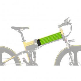 Lankeleisi Sepeda Elektrik Lipat Smart Moped Sports Version 48V 10AH - XT750 - Black/Blue - 11