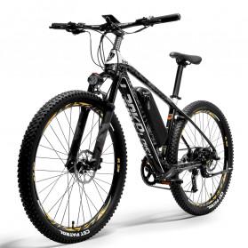 Lankeleisi Sepeda Elektrik Smart Road Bicycle Moped 48V 16AH - S690 - Black White