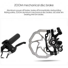 Lankeleisi Sepeda Elektrik Lipat Smart Moped 48V 10AH 1000W - X2000 Plus - Black/Red - 4