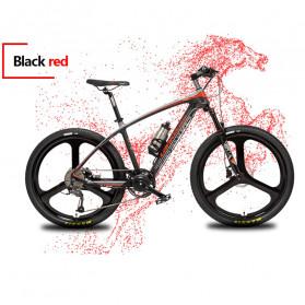 Lankeleisi Sepeda Gunung Elektrik Smart Moped 250W 36V 6.8AH - S600 - Black/Red - 3