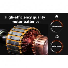 Lankeleisi Sepeda Gunung Elektrik Smart Moped 250W 36V 6.8AH - S600 - Black/Red - 7
