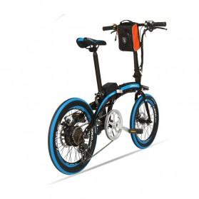 Lankeleisi Sepeda Elektrik Lipat Smart Moped 36V 10Ah 400W - QF600 - Black - 2