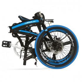 Lankeleisi Sepeda Elektrik Lipat Smart Moped 36V 10Ah 400W - QF600 - Black - 3