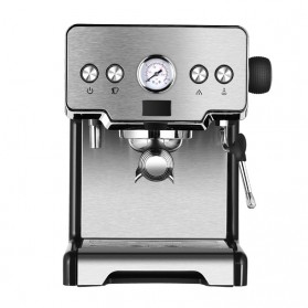 Gemilai Mesin Kopi Semi Automatic Espresso 15 Bar Italian Coffee Machine 1.7 Liter - CRM3605 - Silver Black - 2
