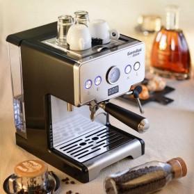 Gemilai Mesin Kopi Semi Automatic Espresso Cappucino 15 Bar Italian Coffee Machine 1.7 Liter - CRM3605 - Silver Black - 4