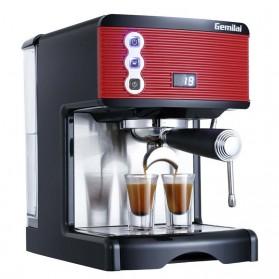 Gemilai Mesin Kopi Semi Automatic Espresso 15 Bar Italian Coffee Machine 1.7 Liter - CRM3601 - Red - 2