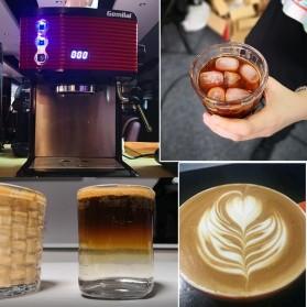 Gemilai Mesin Kopi Semi Automatic Espresso 15 Bar Italian Coffee Machine 1.7 Liter - CRM3601 - Red - 5