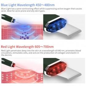 ANLAN JD-CP001 Pembersih Wajah Elektrik Ultrasonic Facial Skin Scrubber Ion Acne Skin Cleanser - ALCPJ05-02 - White - 2