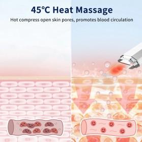 ANLAN Pembersih Wajah Elektrik Heat Ultrasonic Facial Skin Scrubber Ion Acne Skin Cleanser - ALCPJ06-02 - White - 2
