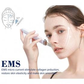 ANLAN Pembersih Wajah Elektrik Heat Ultrasonic Facial Skin Scrubber Ion Acne Skin Cleanser - ALCPJ06-02 - White - 7