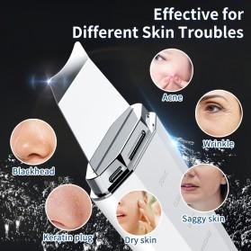 ANLAN Pembersih Wajah Elektrik Heat Ultrasonic Facial Skin Scrubber Ion Acne Skin Cleanser - ALCPJ06-02 - White - 10