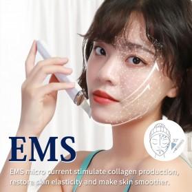 ANLAN Pembersih Wajah Elektrik Heat Ultrasonic Facial Skin Scrubber Ion Acne Skin Cleanser - ALCPJ06-02 - White - 12
