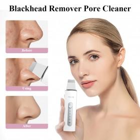 ANLAN 8801 Pembersih Wajah Elektrik Ultrasonic Facial Skin Scrubber Ion Acne Skin Cleanser - ALCPJ08-02 - White - 7