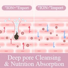 ANLAN 8801 Pembersih Wajah Elektrik Ultrasonic Facial Skin Scrubber Ion Acne Skin Cleanser - ALCPJ08-02 - White - 10
