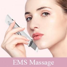 ANLAN 8801 Pembersih Wajah Elektrik Ultrasonic Facial Skin Scrubber Ion Acne Skin Cleanser - ALCPJ08-02 - White - 11