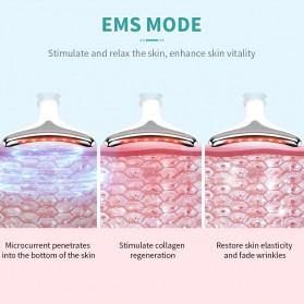 ANLAN ES-081 Terapi Kecantikan Wajah Leher LED Photon Neck Beauty Anti Wrinkle - ALMJY01-02 - White - 4