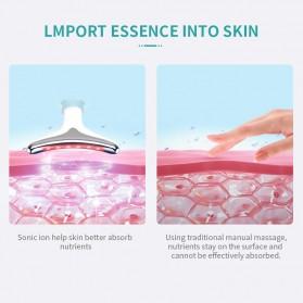 ANLAN ES-081 Terapi Kecantikan Wajah Leher LED Photon Neck Beauty Anti Wrinkle - ALMJY01-02 - White - 9