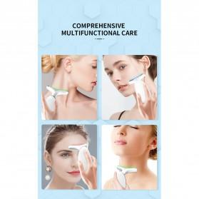 ANLAN ES-081 Terapi Kecantikan Wajah Leher LED Photon Neck Beauty Anti Wrinkle - ALMJY01-02 - White - 10