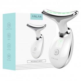 ANLAN ES-081 Terapi Kecantikan Wajah Leher LED Photon Neck Beauty Anti Wrinkle - ALMJY01-02 - White - 12