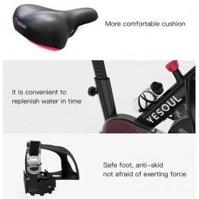 Yesoul S3 Sepeda Statis Spinning Bicycle Exercise Indoor Gym Bike - Black - 3