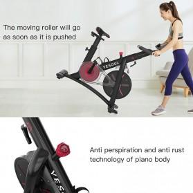 Yesoul S3 Sepeda Statis Spinning Bicycle Exercise Indoor Gym Bike - Black - 4